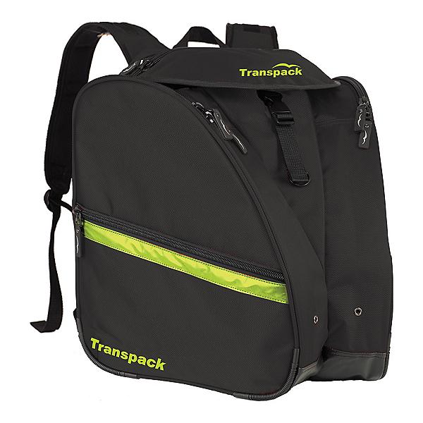Transpack XT Pro Ski Boot Bag 2017, Black-Electric Yellow, 600