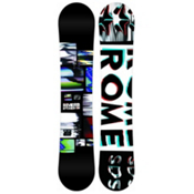 Rome Reverb Rocker Wide Snowboard, 158cm Wide, medium
