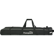 Transpack Ski Vault Double Pro Wheeled Ski Bag 2017, Black-Silver Reflect, medium