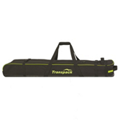 Transpack Ski Vault Double Pro Wheeled Ski Bag, Black-Yellow Electric, medium