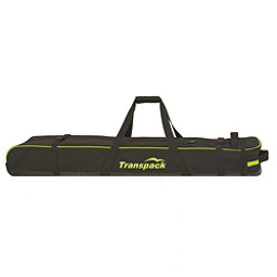 Transpack Ski Vault Double Pro Wheeled Ski Bag 2017, Black-Yellow Electric, 256