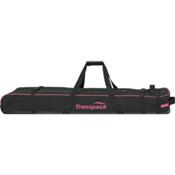 Transpack Ski Vault Double Pro Wheeled Ski Bag 2015, Black-Pink Electric, medium