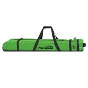 Transpack Ski Vault Double Pro Wheeled Ski Bag 2018, Glen Plake Lime, medium