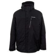 Columbia Lhotse Mountain II Tall Mens Insulated Ski Jacket, Black, medium