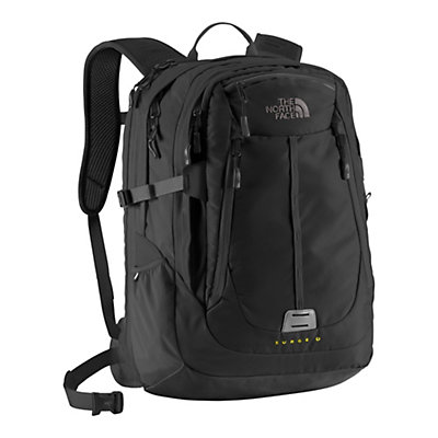 The North Face Surge II Charged Backpack, TNF Black, large