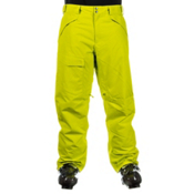 The North Face Freedom Insulated Mens Ski Pants, Sulphur Spring Green, medium