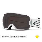 Smith Vice Goggles, White-Blackout, medium