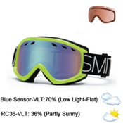 Smith Sentry Goggles, Acid Blockhead-Blue Sensor, medium