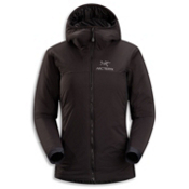 Arc'teryx Atom LT Hoody Womens Jacket, Black-Black, medium