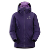 Arc'teryx Atom SV Hoody Womens Jacket, Blackberry, medium