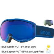 Anon M1 Goggles, Midnight-Blue Cobalt + Bonus Lens, medium
