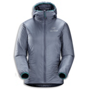 Arc'teryx Nuclei Hoody Womens Jacket, Platinum, medium