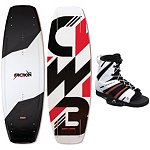 CWB Faction Wakeboard With CWB Venza Bindings
