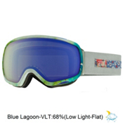 Anon Tempest Womens Goggles, Crafty-Blue Lagoon, medium