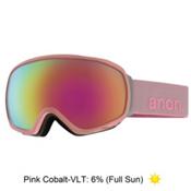 Anon Tempest Womens Goggles 2016, Pastel-Pink Cobalt, medium