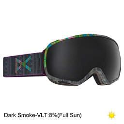 Anon Tempest Womens Goggles 2017, Tribe-Dark Smoke, 256