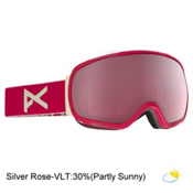 Anon Tempest Womens Goggles, Strawberry-Silver Rose, medium