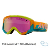 Anon Tracker Girls Goggles 2015, Fresh-Pink Amber, medium