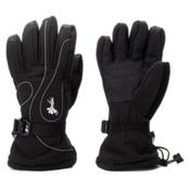 Gordini Fall Line II Womens Gloves, Black-White Stitching, medium