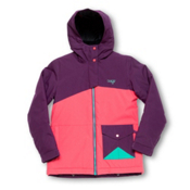 Orage Kella Girls Ski Jacket, Plum, medium