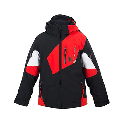 Spyder Leader Boys Ski Jacket (Previous Season), , viewer