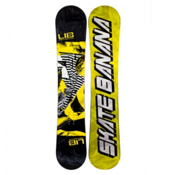 Lib Tech Skate Banana Narrow Snowboard, Yellow, medium