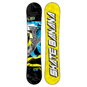 Lib Tech Skate Banana Wide Snowboard, Black-Blue-Yellow, medium