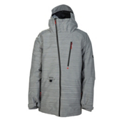 686 Plexus Hydra Thermagraph Mens Insulated Snowboard Jacket, Grey, medium
