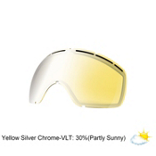 Electric EG2.5 Goggle Replacement Lens, Yellow-Silver Chrome, medium