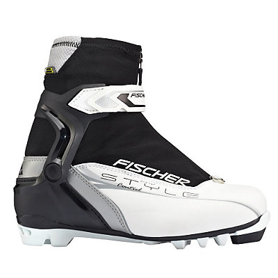 Fischer Control My Style Womens NNN Cross Country Ski Boots, White-Black, viewer