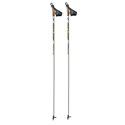 Fischer RC3 Cross Country Ski Poles, Silver, viewer