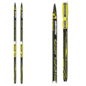 Fischer Sprint Crown Juniors Cross Country Skis with Bindings, , medium