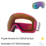 Scott LCG Goggles, Grey Pink-Purple Chrome + Bonus Lens, medium