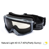 Scott Habit OTG Goggles, Carbon Black-Natural Lens 40, medium