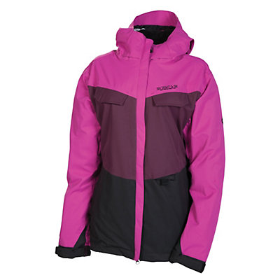 686 Smarty Command Womens Insulated Snowboard Jacket, Light Orchard Colorblock, viewer