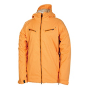 686 Mannual Tender Womens Insulated Snowboard Jacket, Pumpkin Herringbone Denim, medium