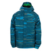686 Smarty Echo Boys Snowboard Jacket, Cyan, medium