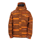 686 Smarty Echo Boys Snowboard Jacket, Orange, medium