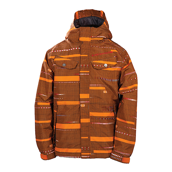 686 Smarty Echo Boys Snowboard Jacket, Orange, 600