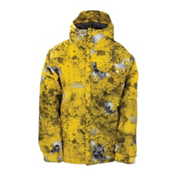 686 Mannual Chipped Boys Snowboard Jacket, Lava, medium
