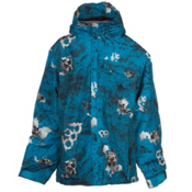 686 Mannual Chipped Boys Snowboard Jacket, Cyan, medium