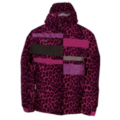 686 Mannual Anna Girls Snowboard Jacket, Rasberry Leopard, medium