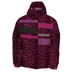 686 Mannual Anna Girls Snowboard Jacket, Rasberry Leopard, 256