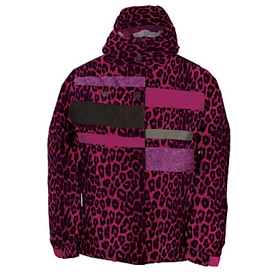 686 Mannual Anna Girls Snowboard Jacket, Rasberry Colorblock, viewer