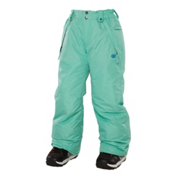 686 Mannual Brandy Girls Snowboard Pants, Mint, medium