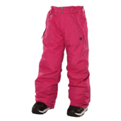 686 Mannual Brandy Girls Snowboard Pants, Raspberry, medium