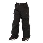 686 Mannual Brandy Girls Snowboard Pants, Black, medium