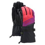 Burton Gore-Tex Touchscreen Womens Gloves, Tropic-Grapeseed-True Black, medium