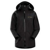 Arc'teryx Stingray Womens Shell Ski Jacket, Black, medium