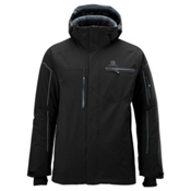 Salomon Brilliant Mens Insulated Ski Jacket, Black, medium